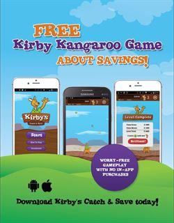 Kirby's Catch 'n Save Flyer